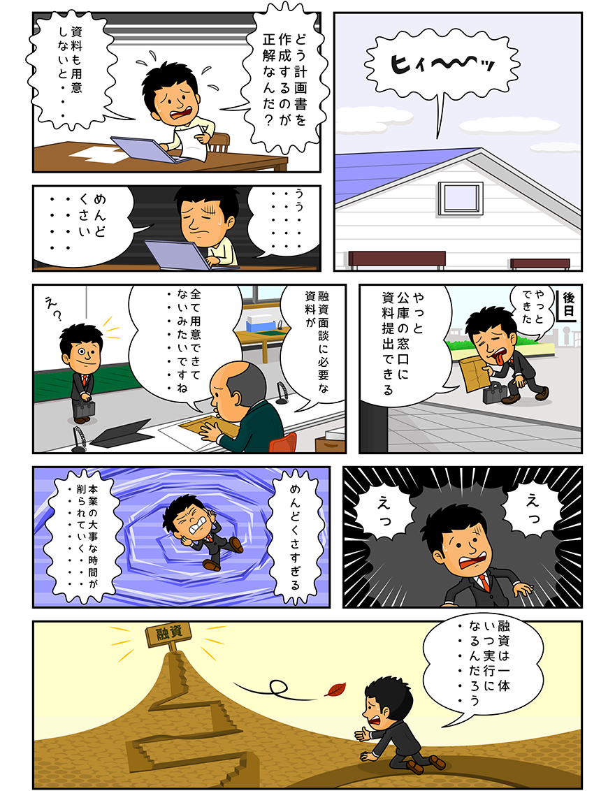 漫画「時間と手間のリスク」